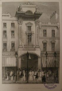 The exterior of the Adelphi in the nineteenth-century. Westminster Archives Centre