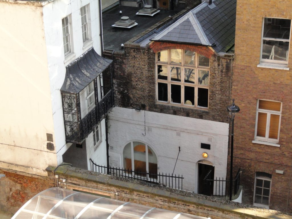 The Old Watch House and Roman Bath in Strand Lane, by Michael Trapp