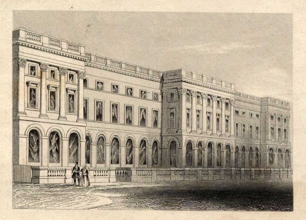 King's College London Main Building ~1830