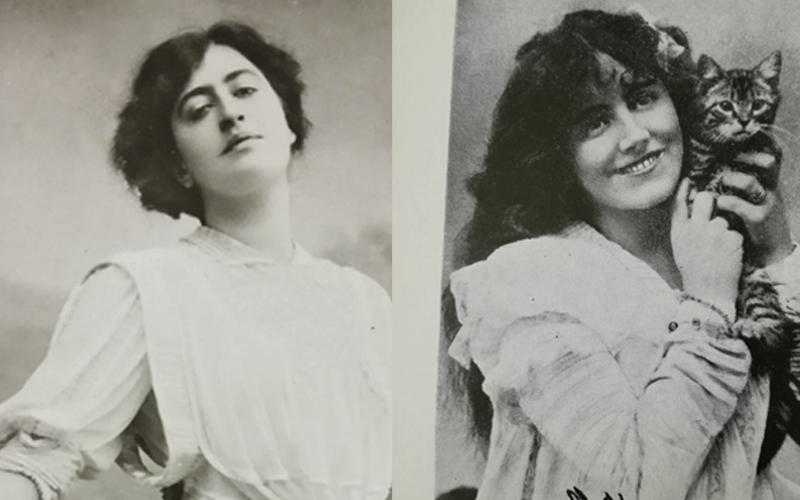 Constance Collier and Ellaline Terriss