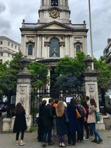 Strandlines London History Day tour group, 30 May 2019.