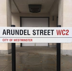 Arundel Street remains today.