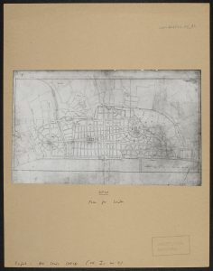 Sir Christopher Wren's plan of London. CON_B04591_F005_016. The Courtauld Institute of Art. CC-BY-NC.