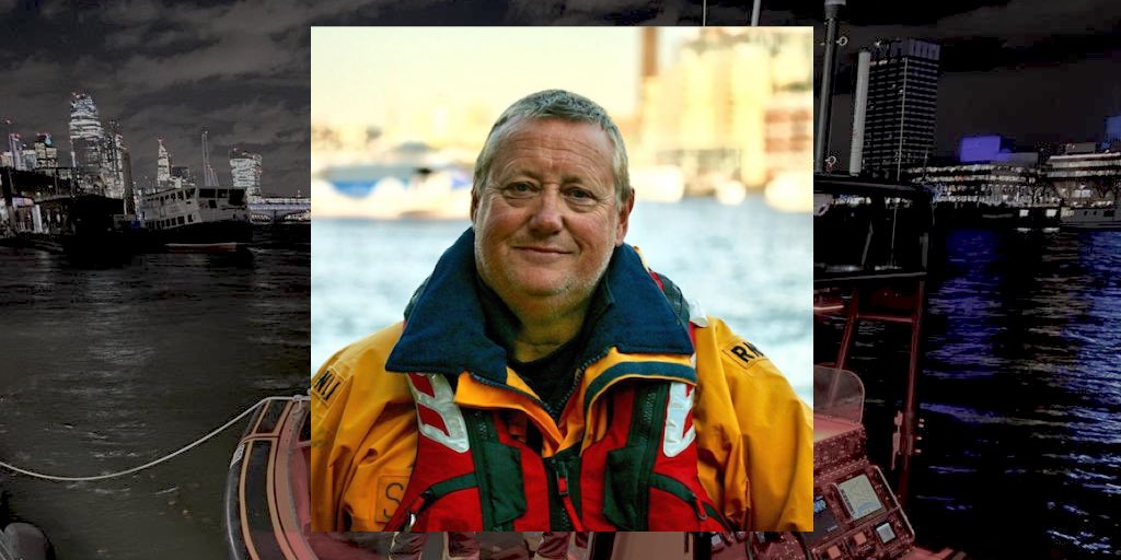 Stan Todd, helmsman on the RNLI Tower pier.