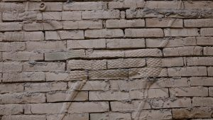 Marduk (god) was the most important god in ancient Babylon. Photo taken inside of city of Babylon 2017, by Mouayad Sary.