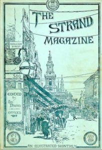 The Strand Magazine Cover July 1891