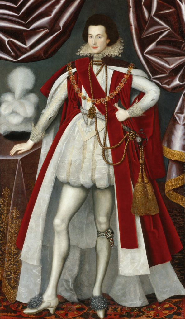 Anonymous portrait of George Villiers, National Portrait Gallery.