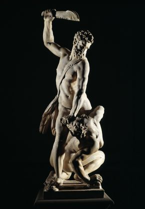 Samson slaying a philistine by Giambologna Victoria and Albert Museum