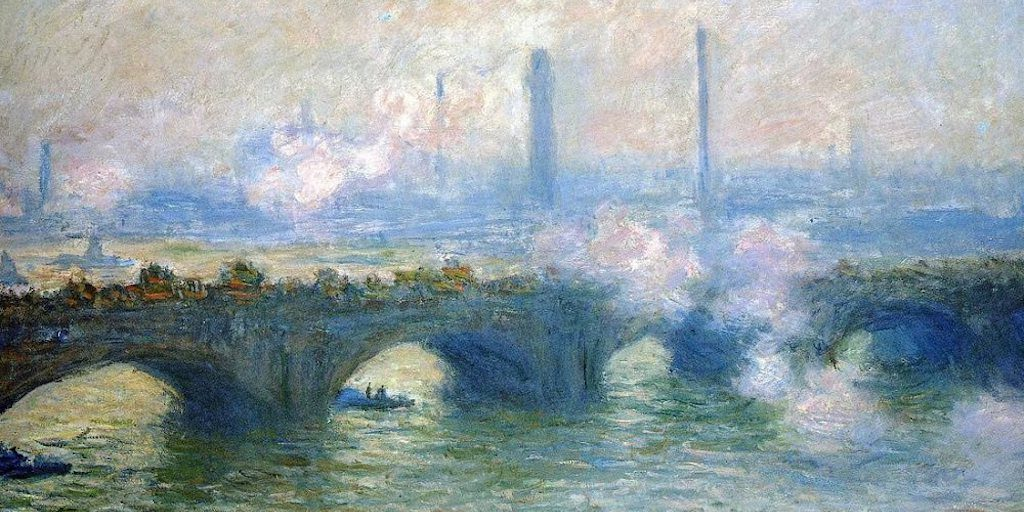 Monet Waterloo Bridge